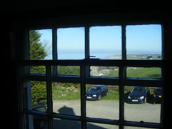 Llwyndu Farmhouse: view from room