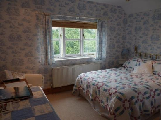 Southwood House Bed and Breakfast: Blue double en-suite room