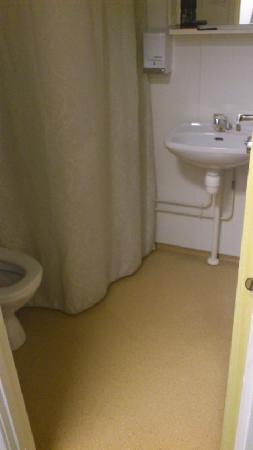 Budget Hotel Kristiansand: Clean toilet