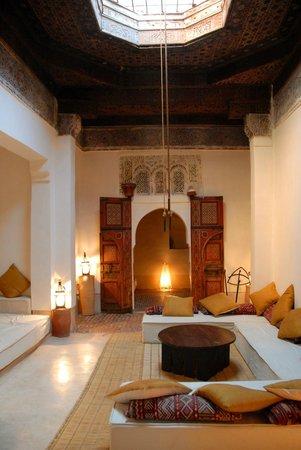 Dar el Qadi: la douiria rue, l'ancien salon privé du Qadi
