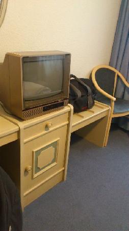 M & A City Hotel Hildesheim: Old tv