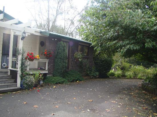 Mokoia Downs Estate B&B: Garden