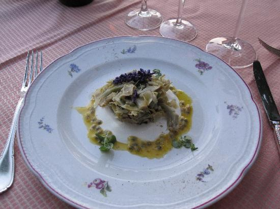 Florence Restaurant: artichoke salad