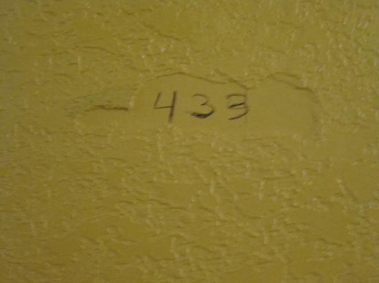 I-Drive Grand Resort & Suites: My room number. Was unsure if it was 433 or 435.