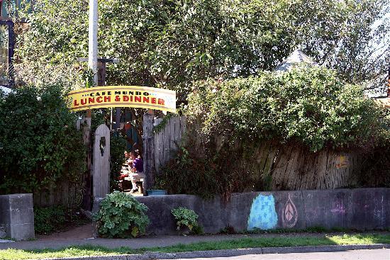 Cafe Mundo on NW Coast Street in Nye Beach - Newport OR