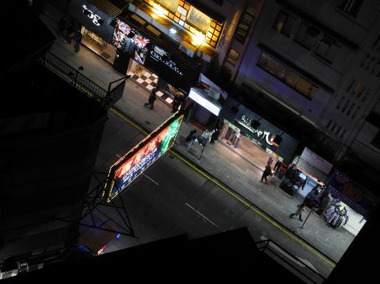 โรงแรมรามาดา เกาลูน: View from our room