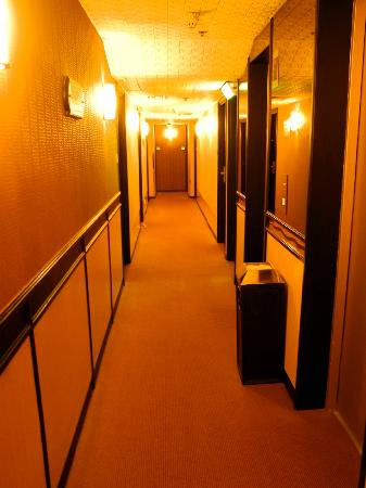 Ramada Hotel Kowloon: Hallway on our floor