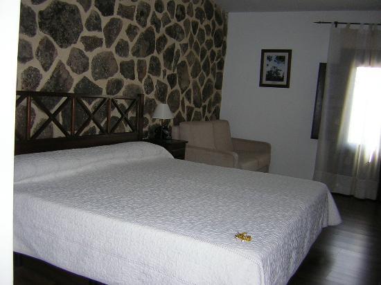 Hotel Spa Villa de Mogarraz: Habitacion standar.