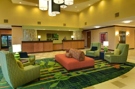 Fairfield Inn & Suites Miami Airport South: Lobby