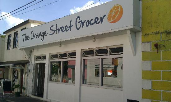 Street View of the Orange Street Grocer