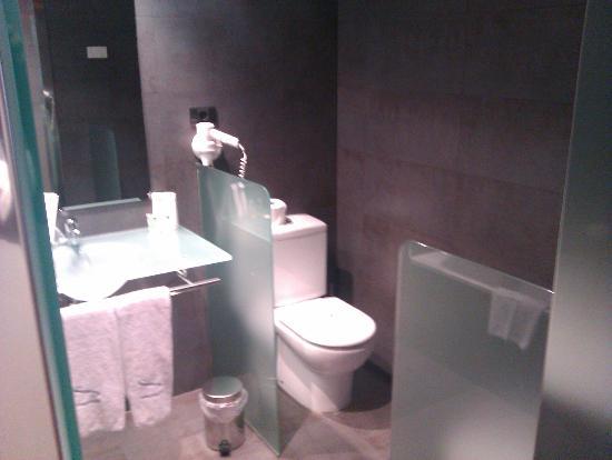 Hotel Europa: Una del baño
