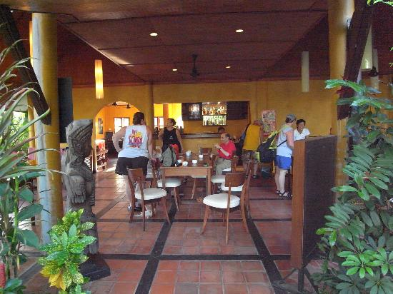 Palm Garden Resort Phuket: WAITING TO LEAVE FOR THE BOAT -- DINING AREA