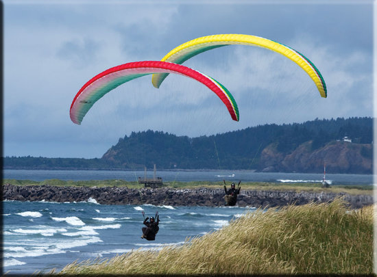 Learn to fly with Discover Paragliding!