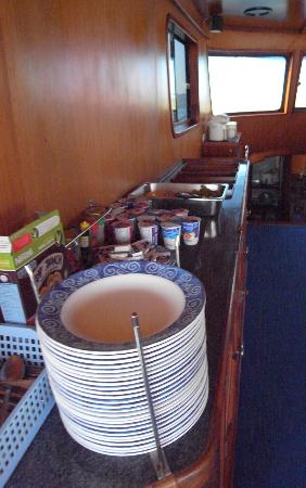 Palm Garden Resort Phuket: BREAKFAST ON THE BOAT