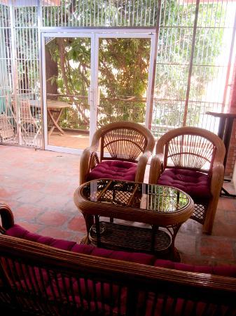 Sundance Riverside Hotel : the 'balcony' :)