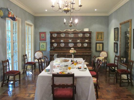 Grendon House: The Breakfast room