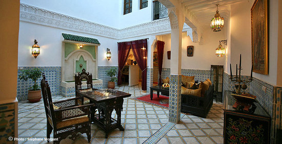 Riad Mouna : Patio 1