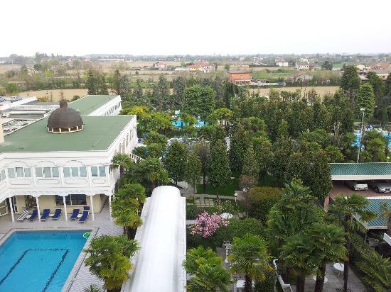 Hotel Terme Metropole: Vista dalla camera