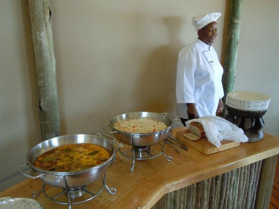 Kalahari Desert Camp: Buffet