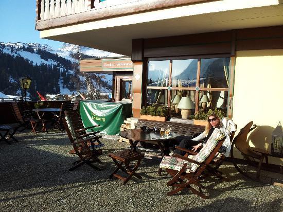 Hotel Kristberg: Terrace