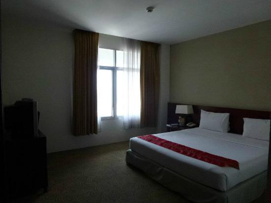 Golden Crown Plaza: Junior suite - bed room