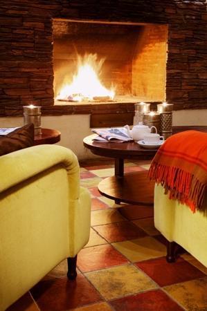 Sokos Hotel Olympia Garden: Fireplace