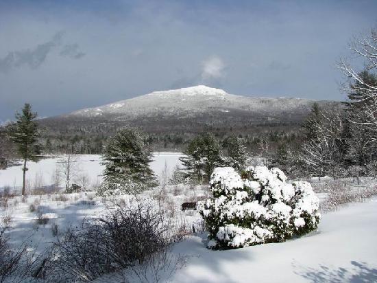 The Inn at East Hill Farm: Mt. Monadnock in the winter