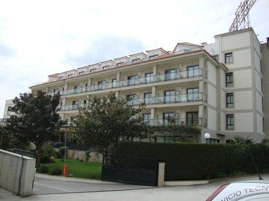 Hotel Carlos I Silgar: edificio...