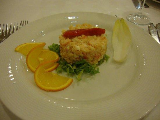 Hotel Carlos I Silgar: entrada jantar...