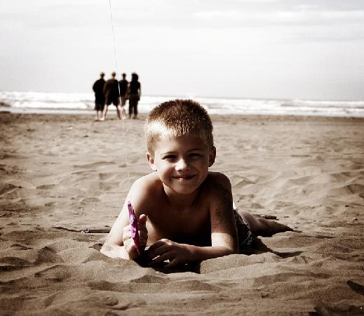 Seabrook Cottage Rentals: Everyone loves the beach at Seabrook!