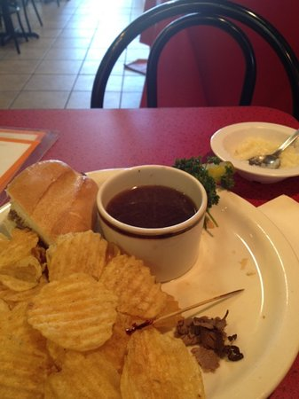 Joe's Cafe: French dip