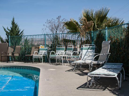 Pines Motel: Pool area