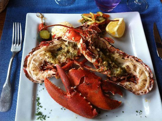 Auberge de Goury : lobster