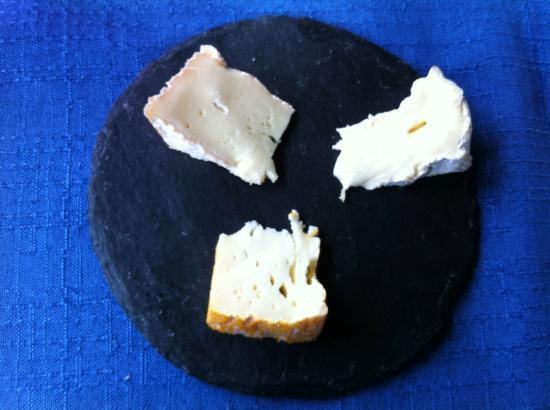Auberge de Goury : Normandy cheeses