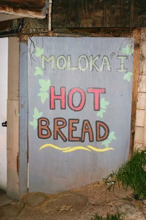 Kanemitsu Bakery: Hot Bread sign - turn left here!