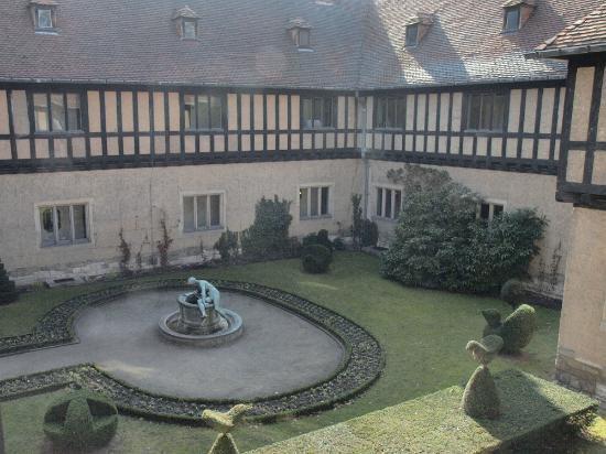 Relexa Schlosshotel Cecilienhof: Blick aus dem Zimmerfenster