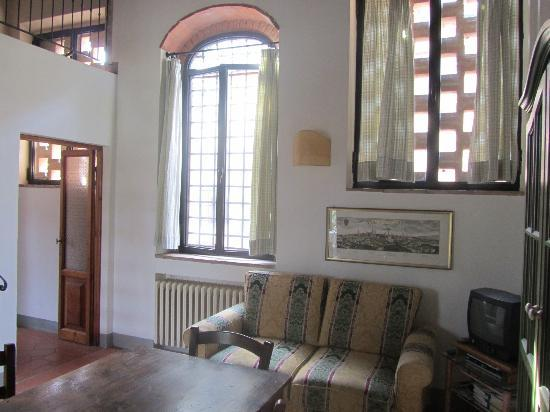 Santa Maria a Poneta: Living area of Vico apartment