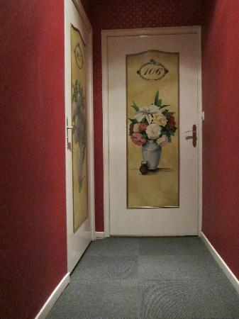 Langres, France: hand painted doors