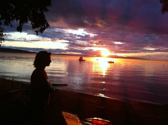 Beach Haven Resort: Another beautiful sunset ~