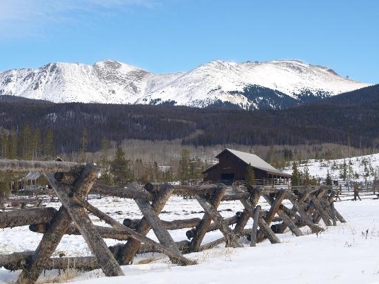 Devil's Thumb Ranch Resort & Spa: View of horse ranch