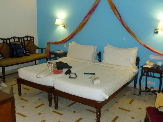 Hotel Rawalkot Jaisalmer: Il letto