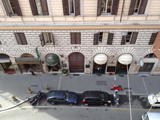 Hotel Ferrarese: view from our room