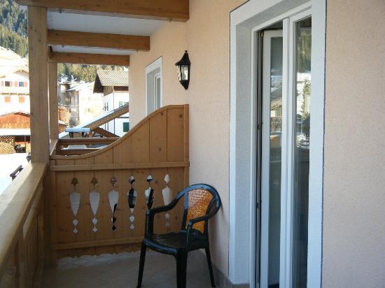 Hotel Sas Morin : Balcone