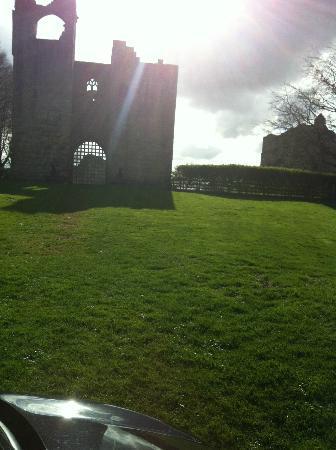 front of Etal castle