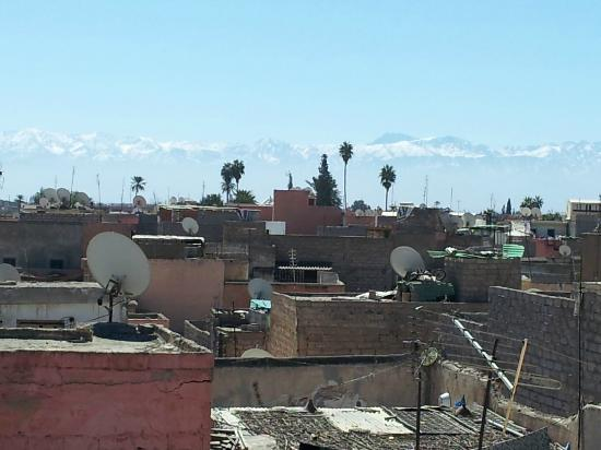 Riad Miski: View from the Roofterrace