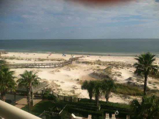 The Beach Club Resort & Spa: View from balcony