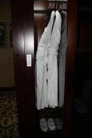 Concorde Hotel Fujairah: robes