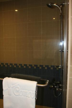 One to One - Concorde Fujairah Hotel: shower