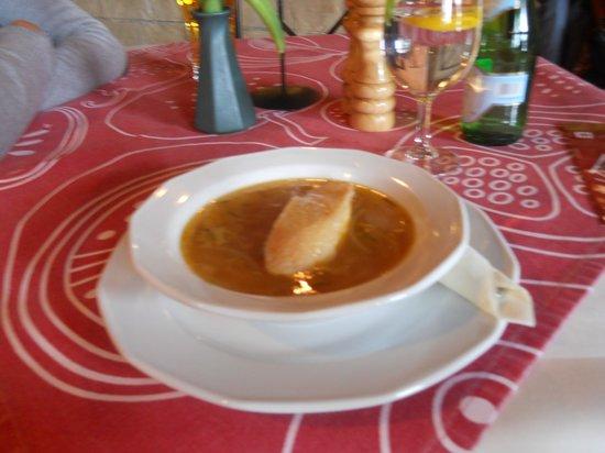 Onion Soup Picture Of Kuchnia I Wino Krakow Tripadvisor
