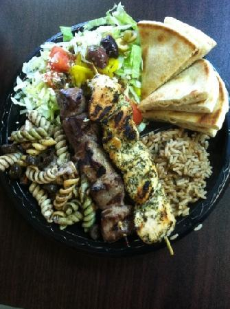 Charlie's Kabob Grill: wow, it looks great and taste better...
